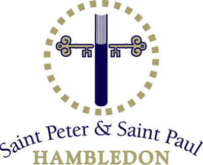 Church of St Peter and St Paul Hambledon Retina Logo